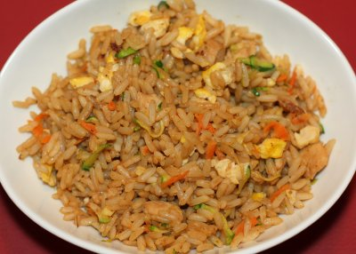Fried Rice Original with Vegetables & Tofu (with white rice)
