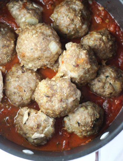 Italian Sausage Sliders with Marinara Sauce
