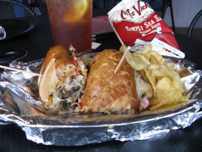 Righteous Portobello Reuben Hoagie - Whole