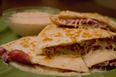 Cheese Quesadilla (large)