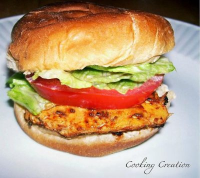 Cajun Chicken Sandwich