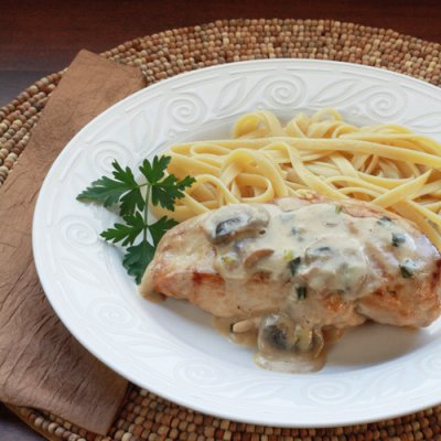 Chicken Scallopini, Dinner