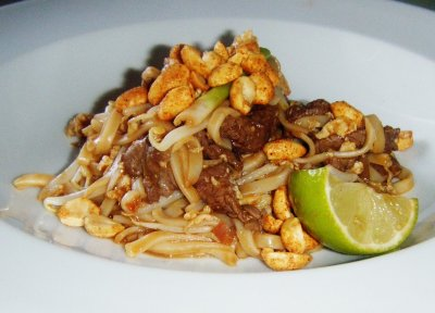 Pad Thai Small with Shrimp