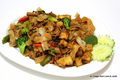 Pad Thai Original with Vegetables & Tofu