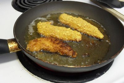 Pan Fried Cheesy Chicken