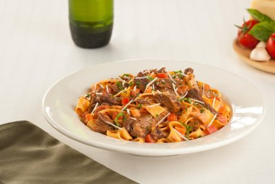 Shredded Beef Pappardelle, Grandioso