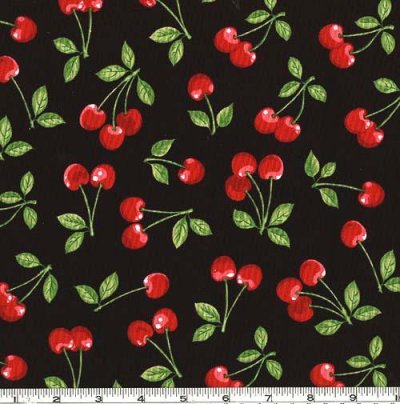 Cherries, Regular / Red / Black, Small