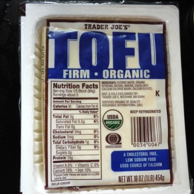 Tofu - Large Slice