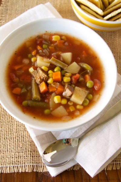 Lumberjack Vegetable Soup