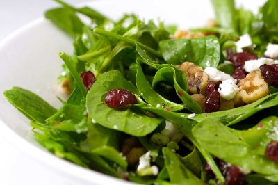 Spinach and Cranberry Salad