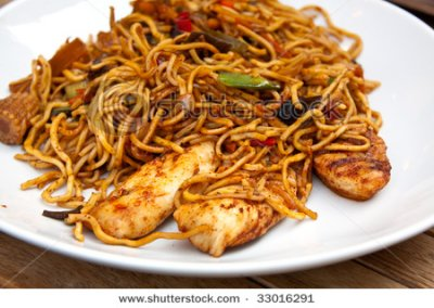 Chicken & Noodles