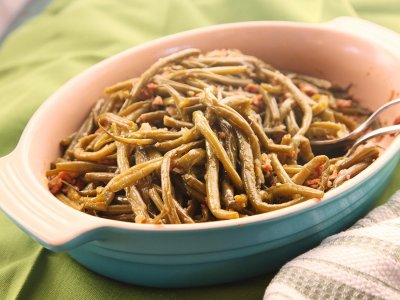 Green Bean Casserole with Cheese