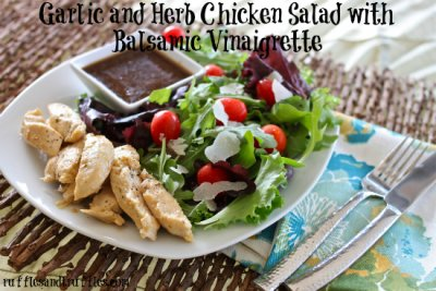 Herb Vinaigrette Chicken - Medium Slice
