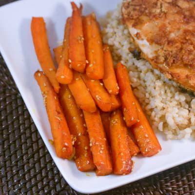 Sesame Glazed Carrots