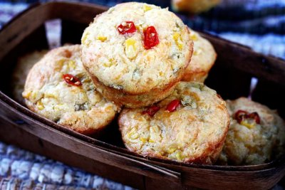 Chile Corn Muffin