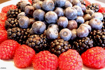 Fruit, Unsweetened Berry Medley