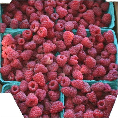 Raspberries, Frozen, Sweetened