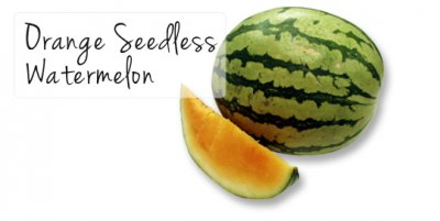 Watermelon, Orange, Seedless