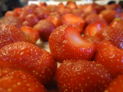 Whole Strawberries, Frozen