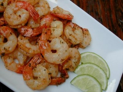 Spicy Garlic & Lime Shrimp-half order