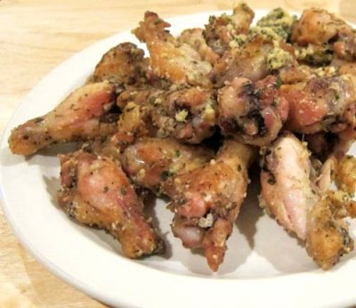 Traditional Wings, Garlic