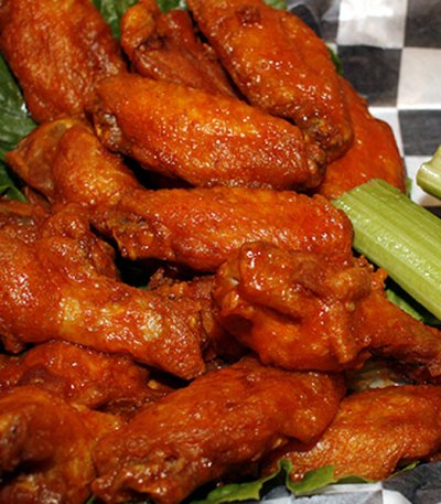 Traditional Wings, X-Hot