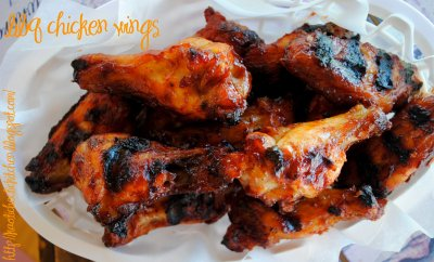 Grilled BBQ Wings