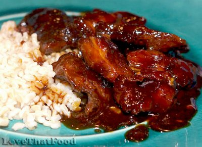 Boneless BBQ Pork Ribs