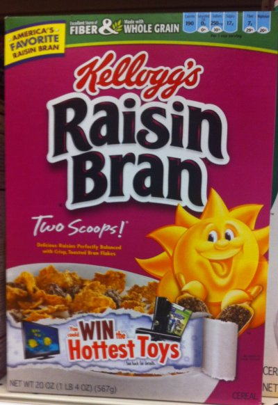 Cereal-Raisen Bran Crunch