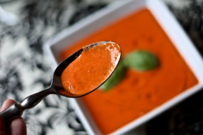 Side Tomato Basil Bisque