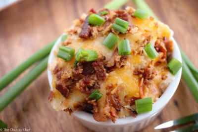 Mashed Potatoes-Loaded
