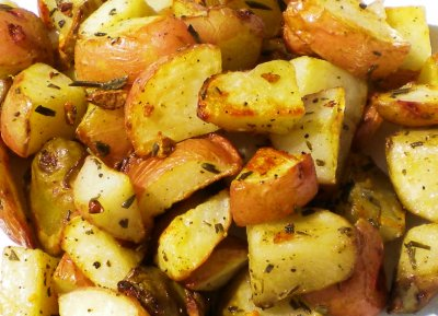 Roasted Rosemary Potatoes, Side