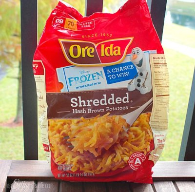 Shredded Loaded Hash Browns
