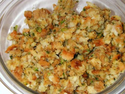 Stuffing, Traditional
