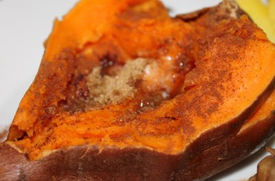 Baked Sweet Potato, Plain