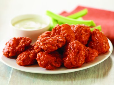 Boneless Wing Basket, X-Hot