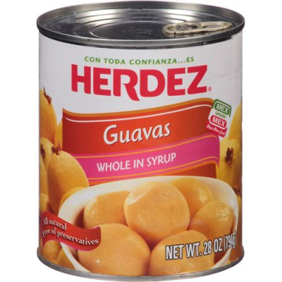 Guavas, Whole in Syrup