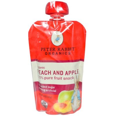 Peach and Apple Pure Fruit Snack