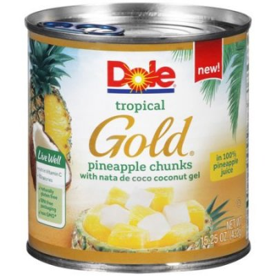 Pineapple Chunks, Tropical Gold 20 Oz