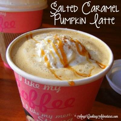 Salted Caramel Latte, Small