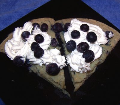 Blueberry Pizzert, Individual, 1 Slice