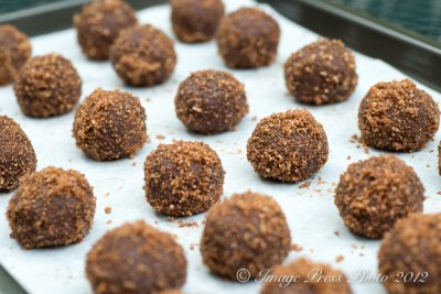 Malted Milk Balls, Ground