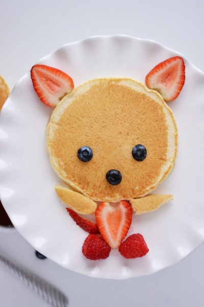 Kid's Bear Hotcakes Meal