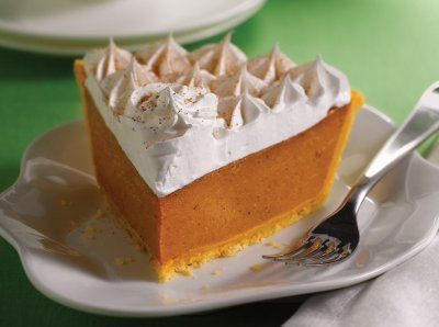 Pumpkin with Whipped Cream