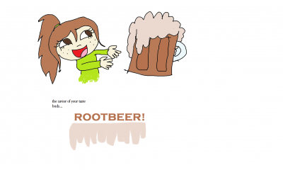 Barq's Rootbeer Float