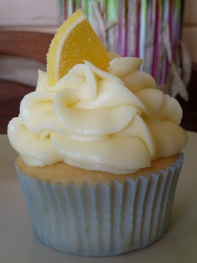 Yellow Cupcake with Cream Cheese Icing