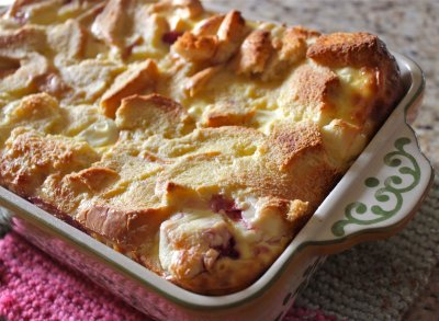 Mascarpone Bread Pudding