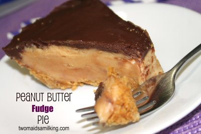 Peanut Butter Fudge Tart