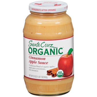 Apple Sauce, A Delicious Blend Of Organic Apple