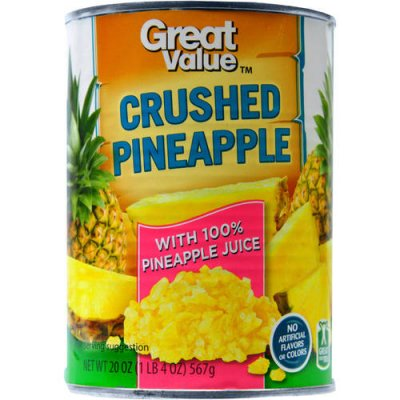Crushed Pineapple in Unsweetened Pineapple Juice